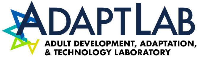 Adapt: Adult Development, Adaptation, & Technology Laboratory